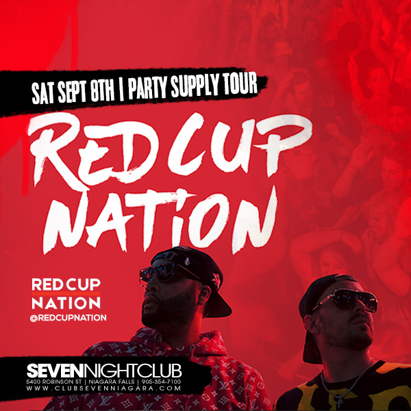 Club Seven - Special Events - Red Cup Nation August 2018