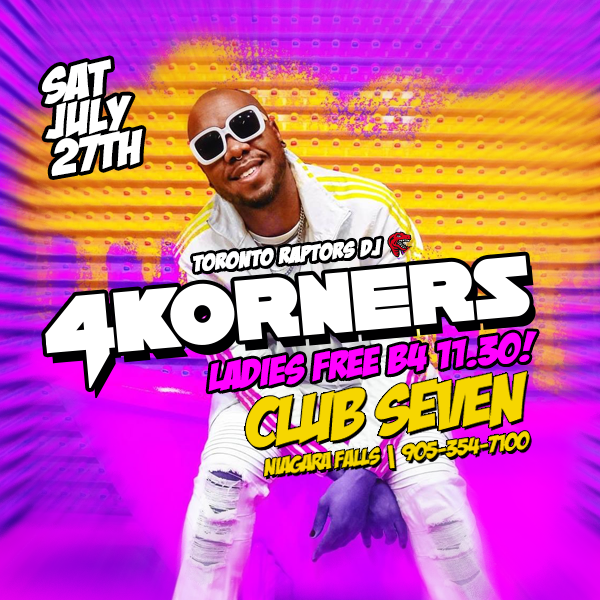 Club Seven - Special Events - Saturday July 27, 2019