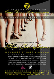 Club Se7en One Year Annivary Miss Club Seven