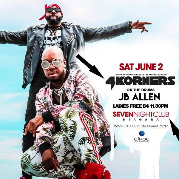Club Seven - Special Events - 4 Korners June 4