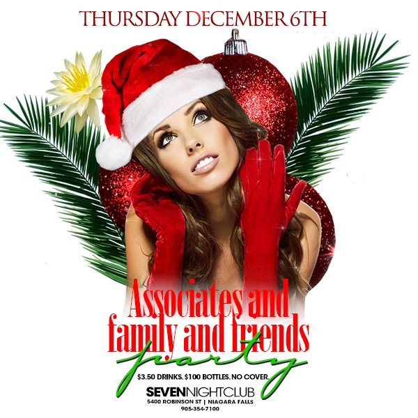 Club Seven - Special Events - December 2018