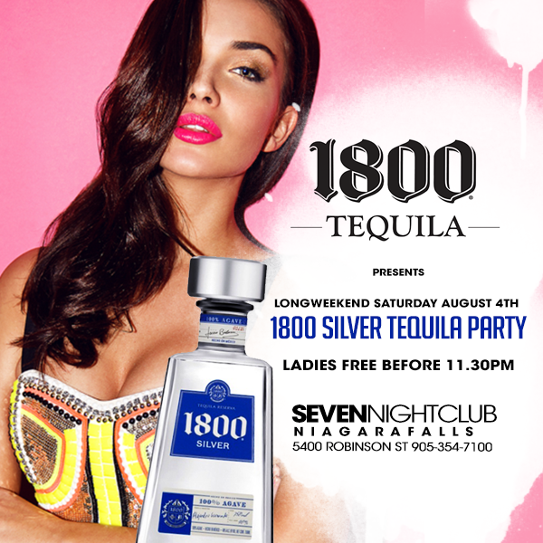 Club Seven - Special Events - Tequila Party