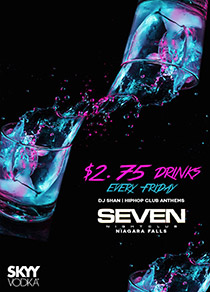 Club Se7en - The All New Club Seven Fridays