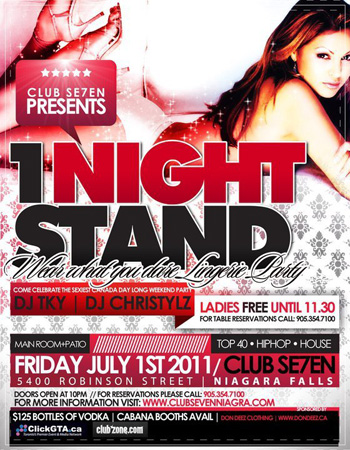 Club Se7en 1 Night Stand