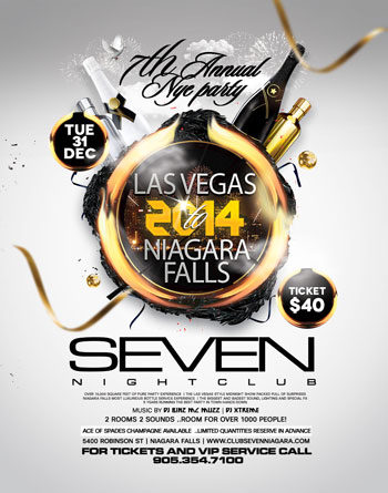 Club Se7en - 2014 New Year's Eve