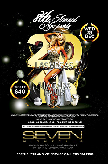Club Se7en - 8th Annual NYE Party