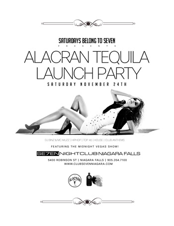 Club Se7en Alacran Tequila Launch Party