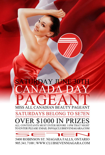 Club Se7en Canada Day Pageant