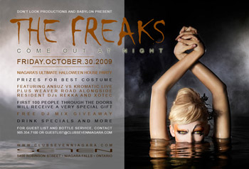 Club Se7en The Freaks