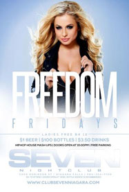 Club Se7en Freedom Fridays