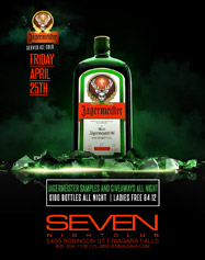 Club Se7en Freedom Fridays - Jagermeister