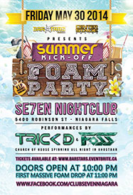 Club Se7en Freedom Fridays - Summer Kick-Off Foam Party