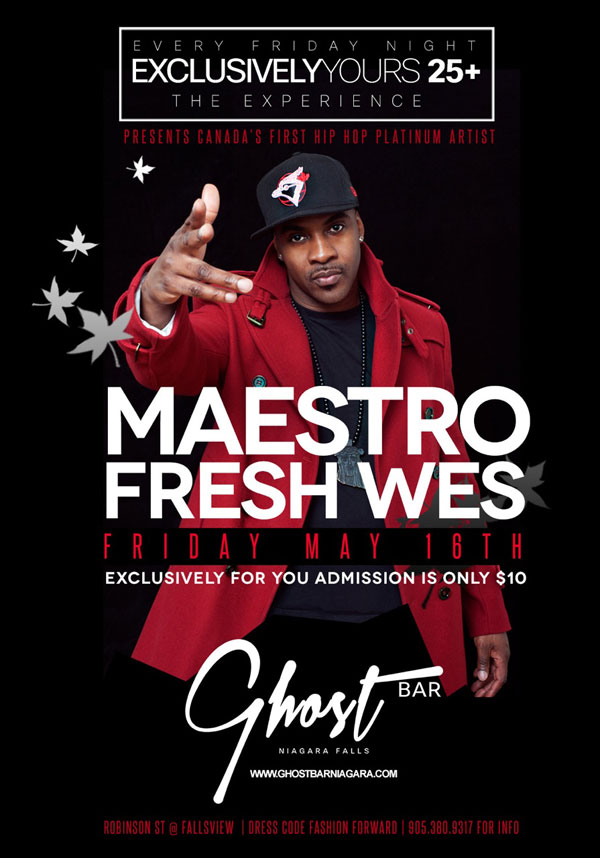 Club Se7en - Ghost Bar - Maestro Fresh Wes
