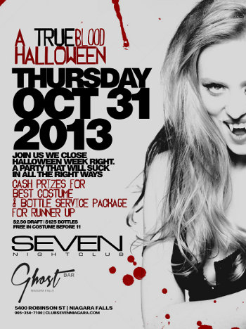 Club Se7en - Halloween Night