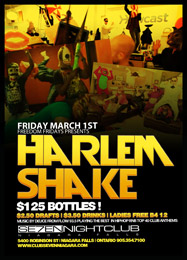 Club Se7en Freedom Fridays Harlem Shake