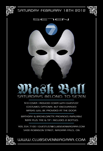 Club Se7en Mask Ball