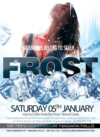 Club Se7en Saturdays Belong to Se7en - Frost