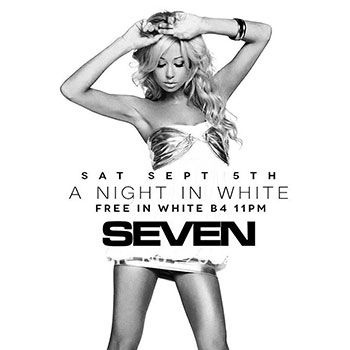 Club Se7en - Special Events - A Night in White