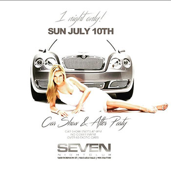 Club Se7en - Special Events - Car Show & After Party