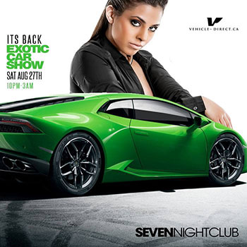 Club Se7en - Special Events - Exotic Car Show