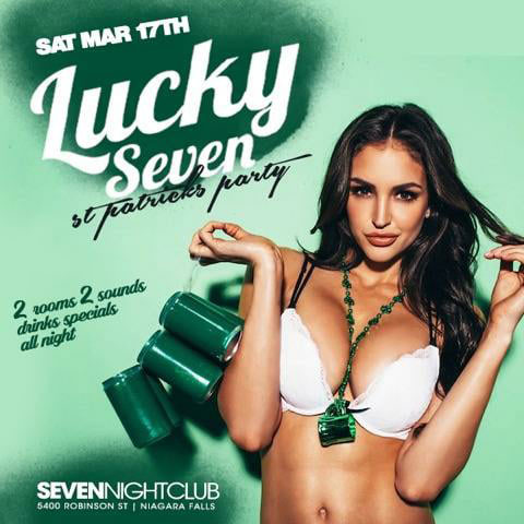 Club Seven - Special Events - Lucky Seven - St. Patricks Party