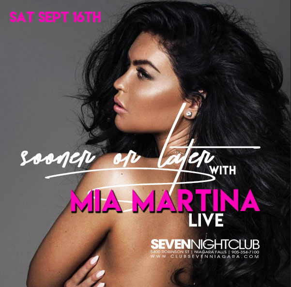 Club Seven - Special Events - Sooner or Later with Mia Martina Live