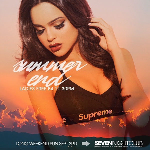 Club Seven - Special Events - Summer End - Long Weekend Sunday
