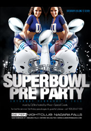 Club Se7en Saturdays Belong To Seven - Superbowl Pre Party