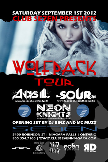 Club Se7en Wolfpack Tour