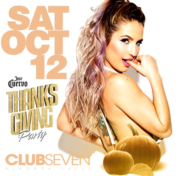 Club Seven - Special Events - Thanksgiving October 12, 2019
